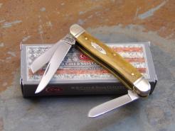 CASE 6318 ANTIQUE SMOOTH BONE STOCKMAN KNIFE