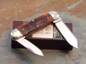Queen #65 Baby Sunfish Knife with Laser Engraved Tang Stamps