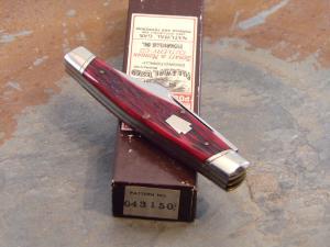 SCHATT & MORGAN 1992 GUNSTOCK POCKET KNIFE