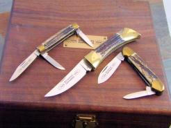 BROWNING GERMANY STAG KNIVES