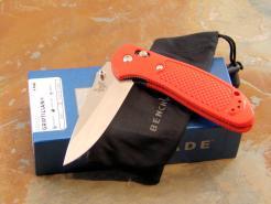 BENCHMADE 551H2O SAFETY ORANGE KNIFE
