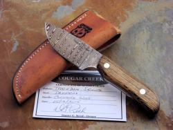 DAMASCUS COUGAR CREEK KNIFE