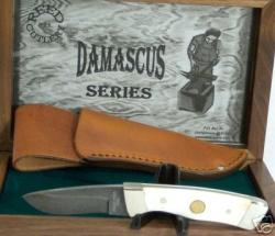 Reed Cutlery Damascus Fixed Blade Knife
